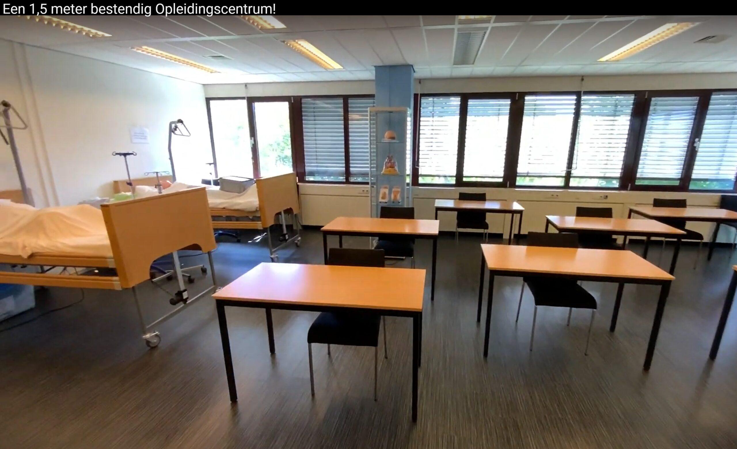 Het SVOZ Opleidingscentrum is ingericht op de 1,5 meter! | SVOZ